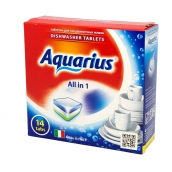 "Таблетки для ПММ ""All in 1"" AQUARIUS, 14 таб."
