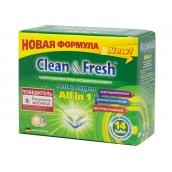 Таблетки для ПММ CLEAN&FRESH All in 1, 14 таблеток