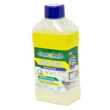 Очиститель двухфазный для ПММ CLEAN&FRESH 250мл Лимон