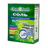 Соль для ПММ CLEAN&FRESH гранулированная 1,8 кг.