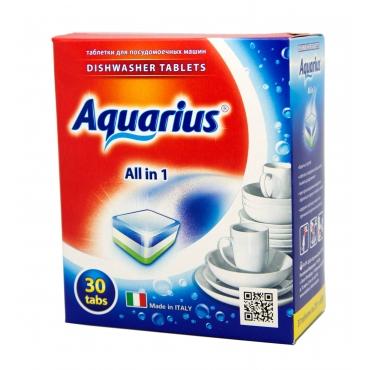 "Таблетки для ПММ ""All in 1"" AQUARIUS, 30 таб."