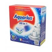 "Таблетки для ПММ ""All in 1"" AQUARIUS, 60 таб."