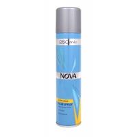 Лак для волос NOVA сверхсильной фиксации 250 мл  с провитаминами В5, жёлтый
